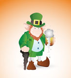 Adult Leprechaun Stock Images