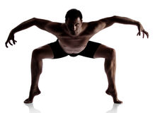 Adult male dancer Stock Photography