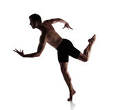 Adult male dancer Stock Photos
