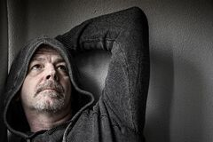 Free Adult Male In Dispair Stock Photos - 176165713