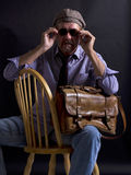 Adult male movie director Royalty Free Stock Images
