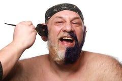 Adult man color beard Stock Photos