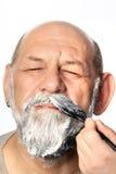 Adult man color beard Royalty Free Stock Photo
