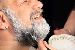 Adult man color beard Stock Photo