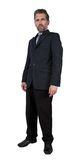Adult man with scornful look. Adult man dressed in business suit with scornful look Royalty Free Stock Photos