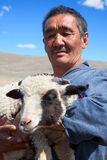 The adult man  shepherd Stock Photo