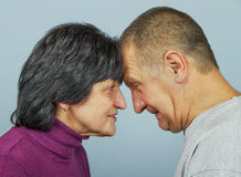 Adult man and woman. Royalty Free Stock Photos