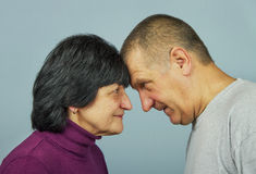 Adult man and woman. Stock Photography