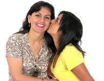 Adult mother with her daughter Stock Photo