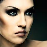 Adult pretty woman stylish portrait Stock Image