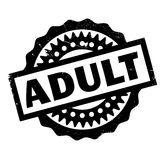 Adult rubber stamp Stock Images