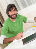 Adult Student Smiling Royalty Free Stock Photo