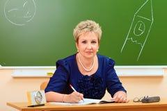 Adult teacher Stock Photography