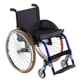 Adult Wheelchair stock image