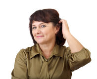 Adult woman. Stock Photo