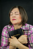 Adult woman praying Stock Photography