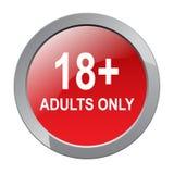18 adulti più soltanto illustrazione di stock