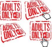 Adulti soltanto Immagini Stock Libere da Diritti
