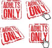 Adulti soltanto Fotografie Stock Libere da Diritti