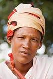 Adulto de Basarwa Foto de archivo libre de regalías
