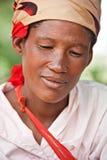Adulto de Basarwa Fotografía de archivo libre de regalías