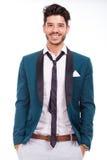 Adulto vestido para arriba con sonrisa Fotografía de archivo