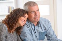 Adultos felizes Imagem de Stock