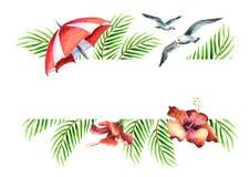 Adultos novos Aquarela desenhado à mão Imagem de Stock