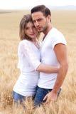 Adultos novos felizes no amor Fotografia de Stock Royalty Free