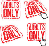 Adults only Royalty Free Stock Photos