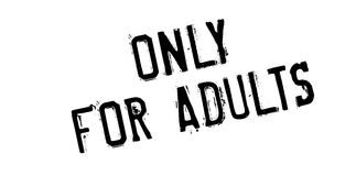 Only For Adults rubber stamp Royalty Free Stock Photos