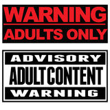 Adults only Stock Photos
