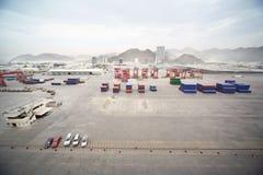 ładunków samochodów budowa wiele inny Fotografia Stock