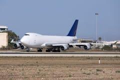 Ładunku jumbo jet taxiing Zdjęcie Royalty Free