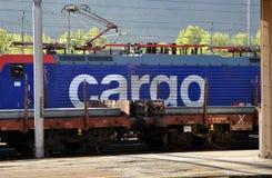 ładunku lokomotywy sbb Obrazy Stock