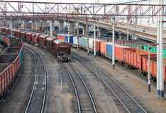 ładunku Odessa port Zdjęcie Stock