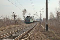 Ładunku pociąg Obrazy Stock