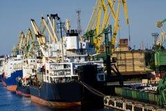 ładunku port Zdjęcia Stock
