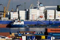 ładunku port Fotografia Stock