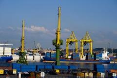 ładunku port Obrazy Royalty Free