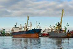 Ładunku port Obraz Royalty Free