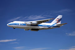 Ładunku samolot Fotografia Stock