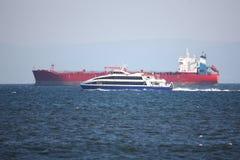 ładunku statek zdjęcie stock