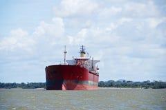 Ładunku statek na Orinoco rzece Obraz Stock