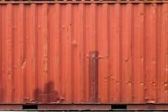 Ładunku statku zbiornika tekstura Fotografia Stock