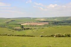 Adur-Tal bei Shoreham england Lizenzfreies Stockfoto