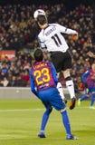 Aduriz des Valencia CF Stockfotos