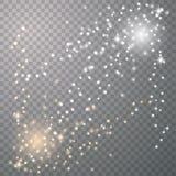 Star dust sparks royalty free illustration
