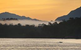 Aduwey-Dorf auf Misool-Insel, Raja Ampat, Indonesien Lizenzfreie Stockbilder