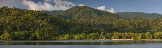 Aduwey-Dorf auf Misool-Insel, Raja Ampat, Indonesien Stockfoto